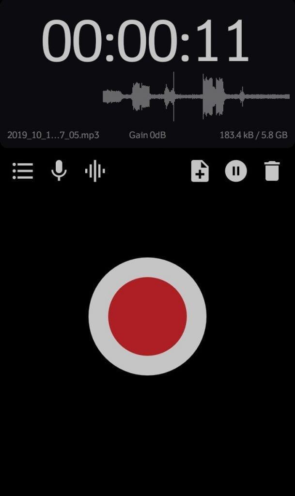 ASR Voice Recorder
