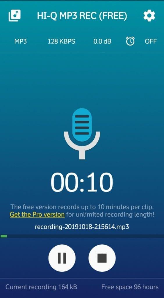 HiQ MP3 Voice Recorder