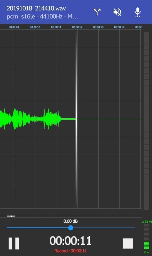 RecForge II Voice Recorder