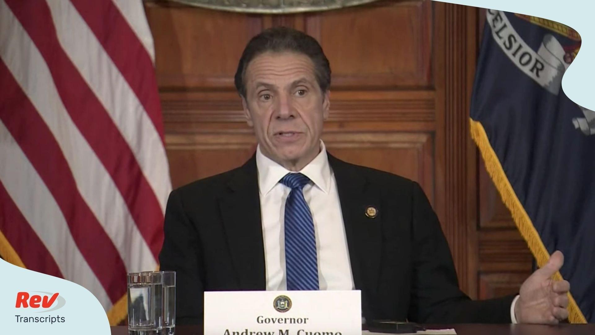 Andrew Cuomo Coronavirus New York Update