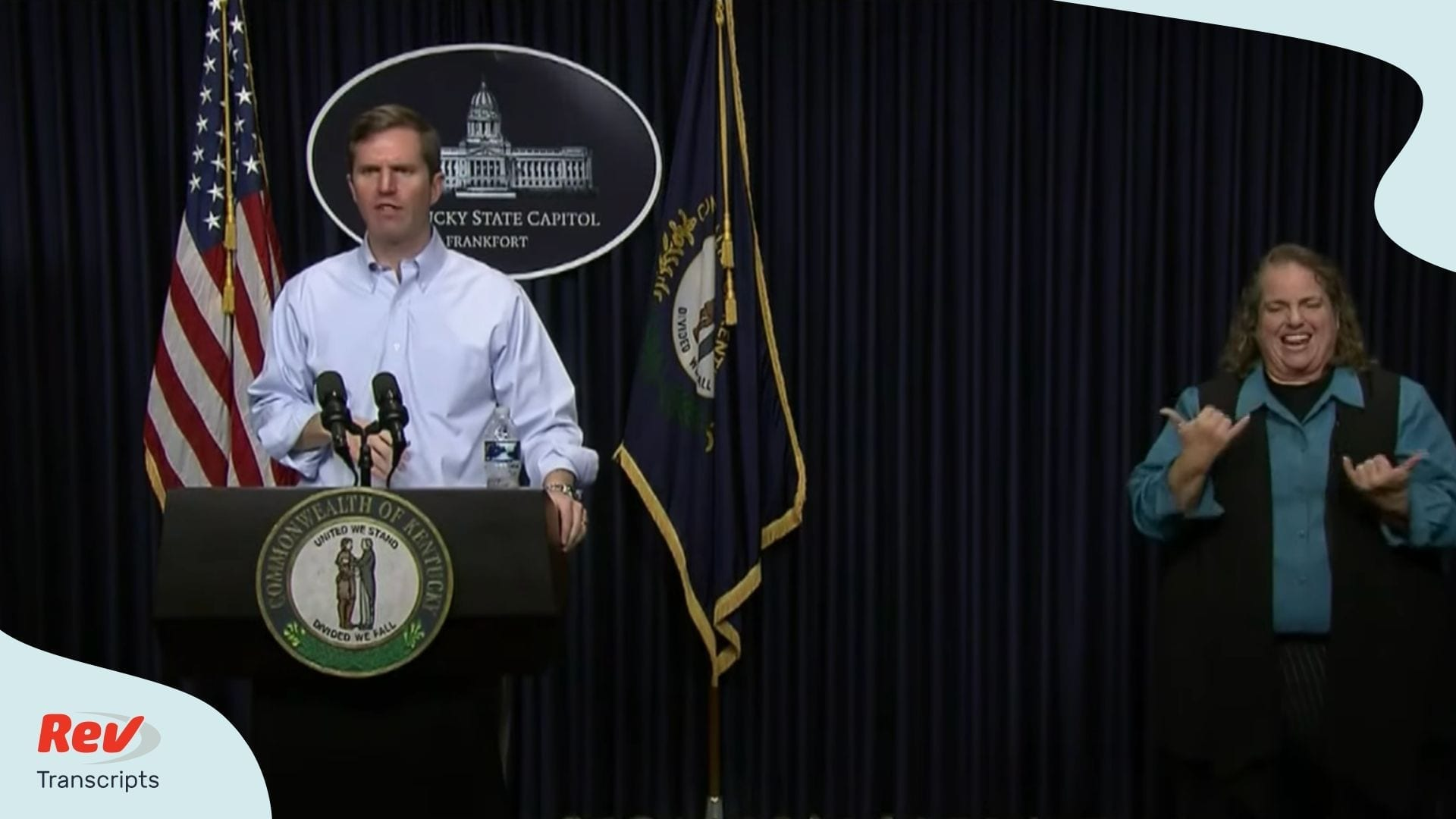 Andy Beshear March 18 Coronavirus Briefing