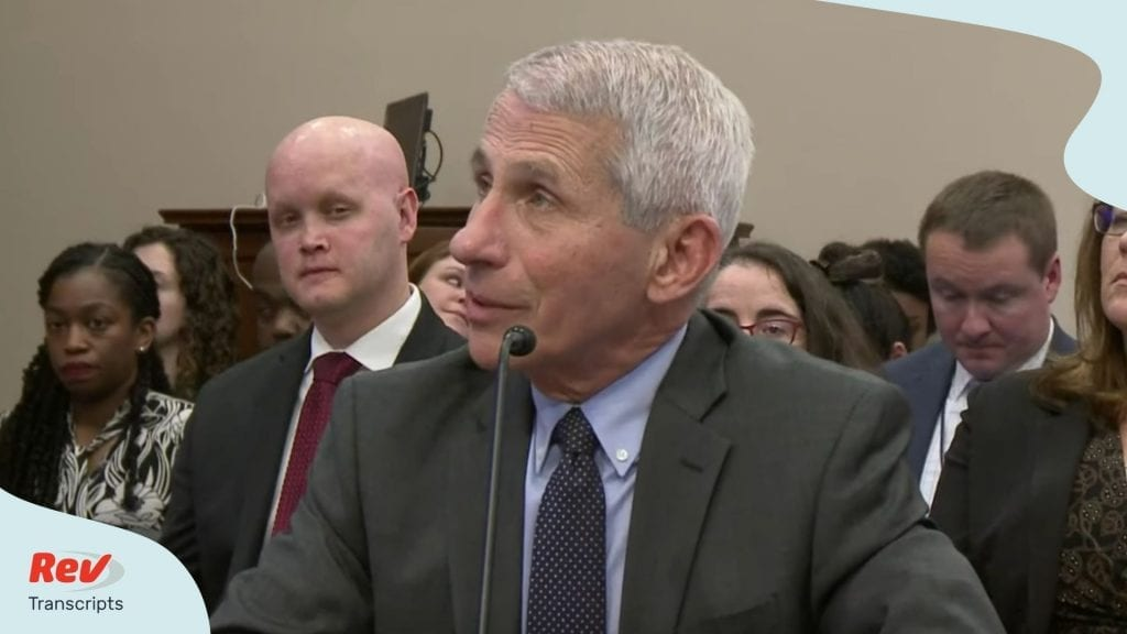 Anthony Fauci testifies on NIH budget request amid coronavirus outbreak