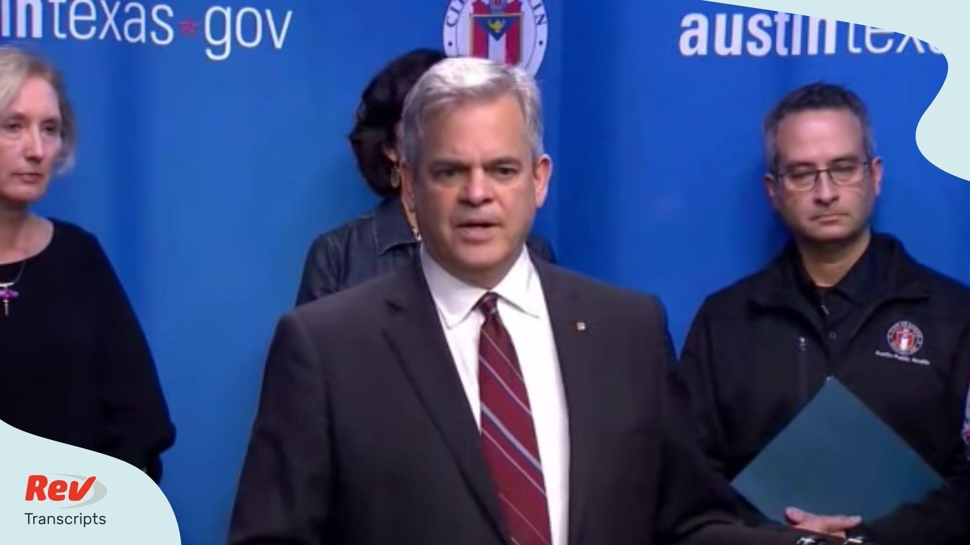 Austin Cancels South by Southwest Coronavirus