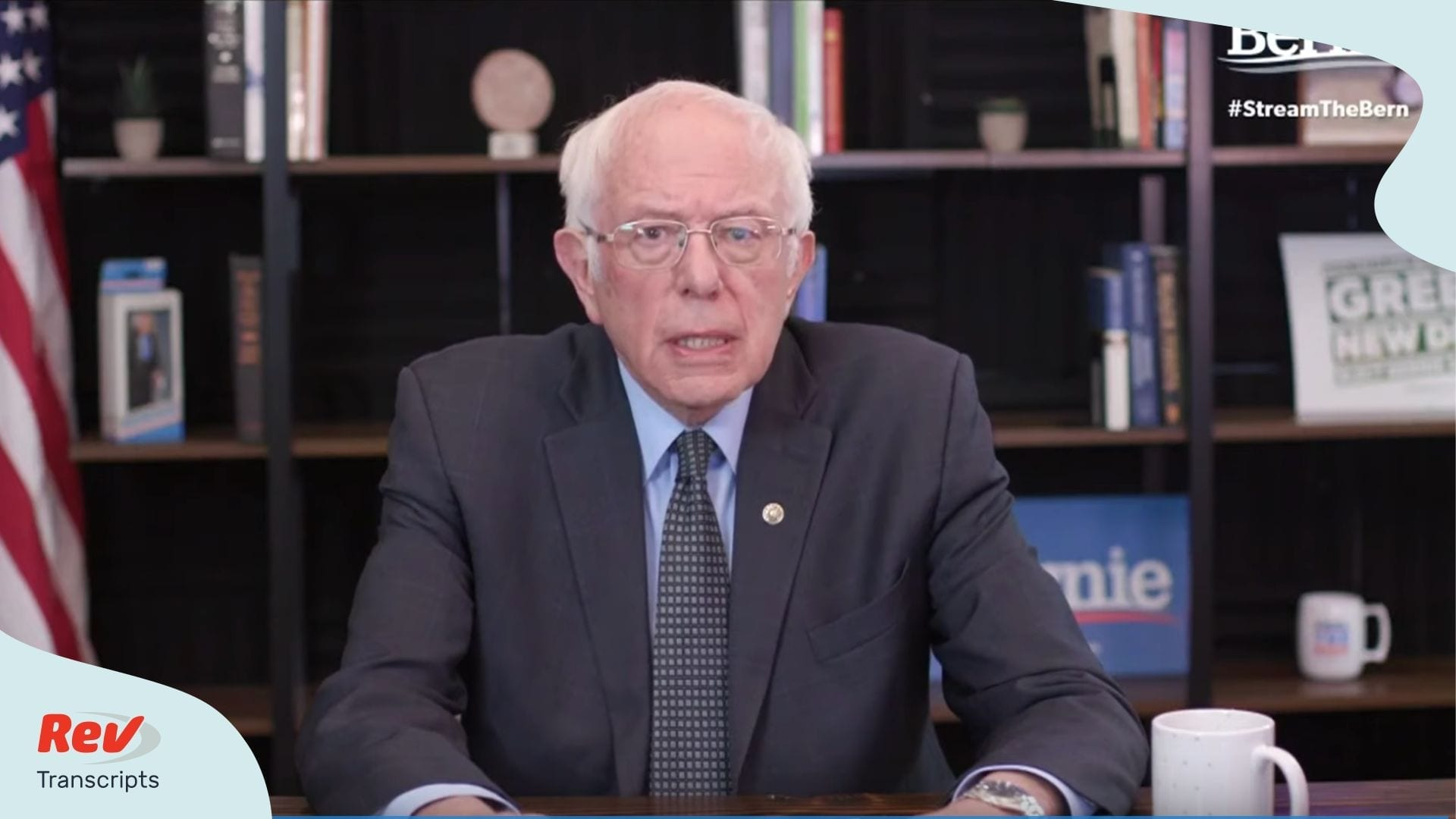 Bernie Sanders Coronavirus address Primary Night Transcript