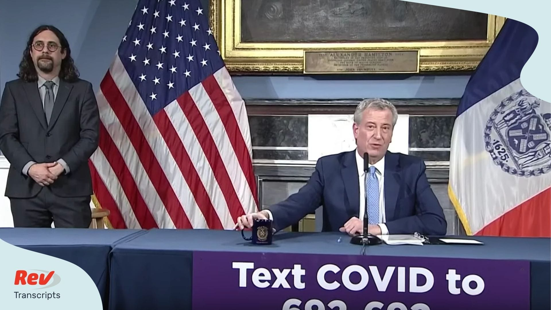 Bill de Blasio Coronavirus Briefing Transcript March 24