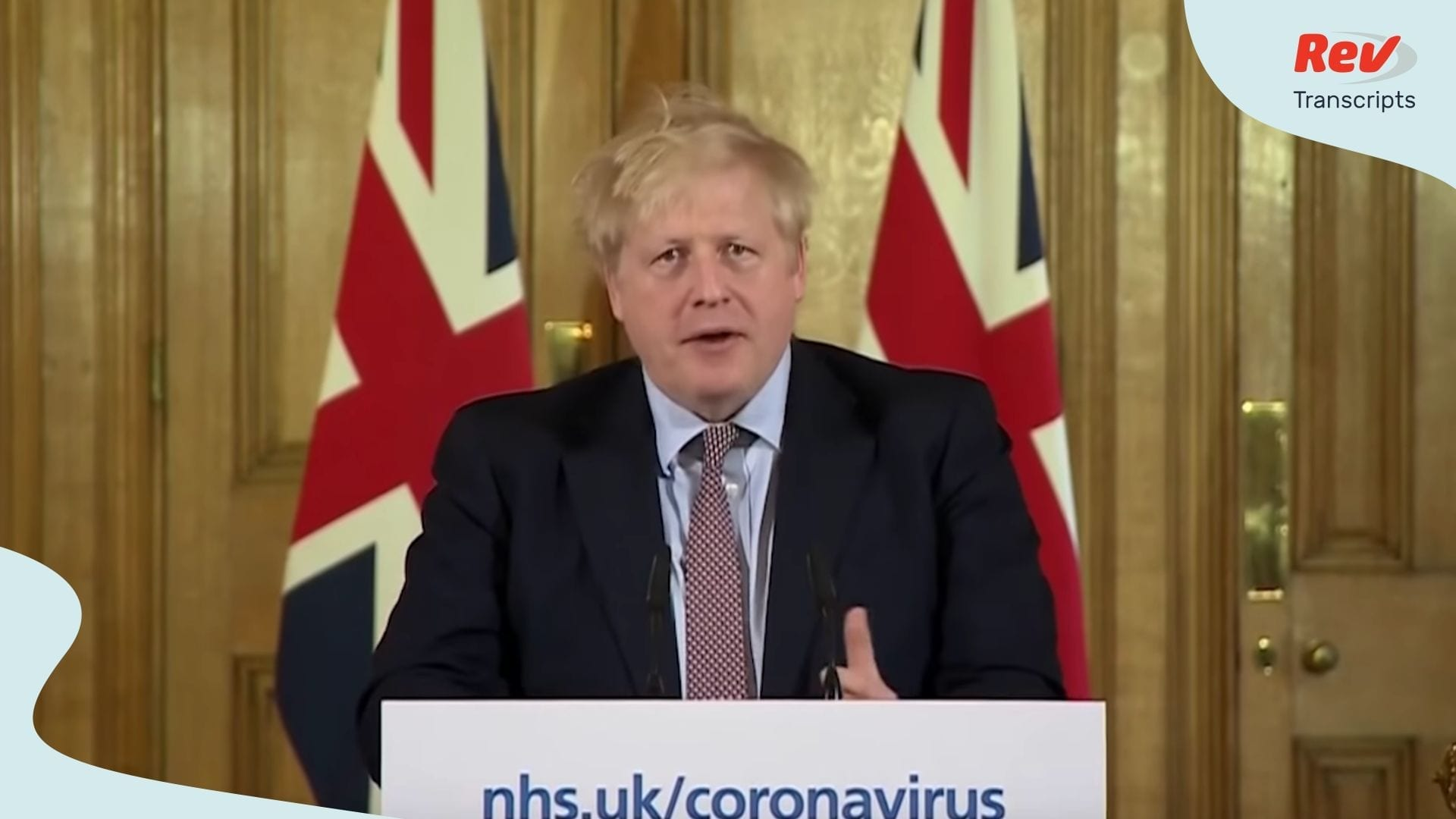 Boris Johnson Coronavirus Speech Transcript