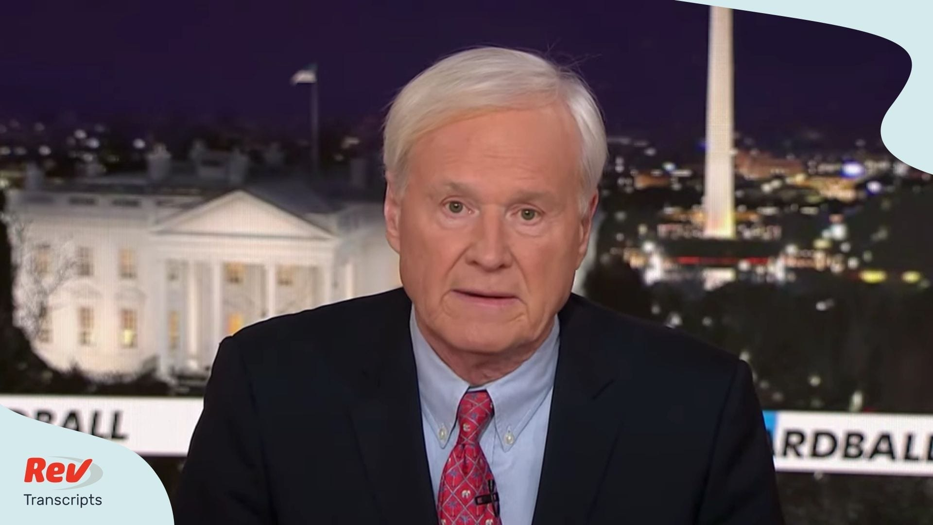 Chris Matthews Retirement Announcement Transcript