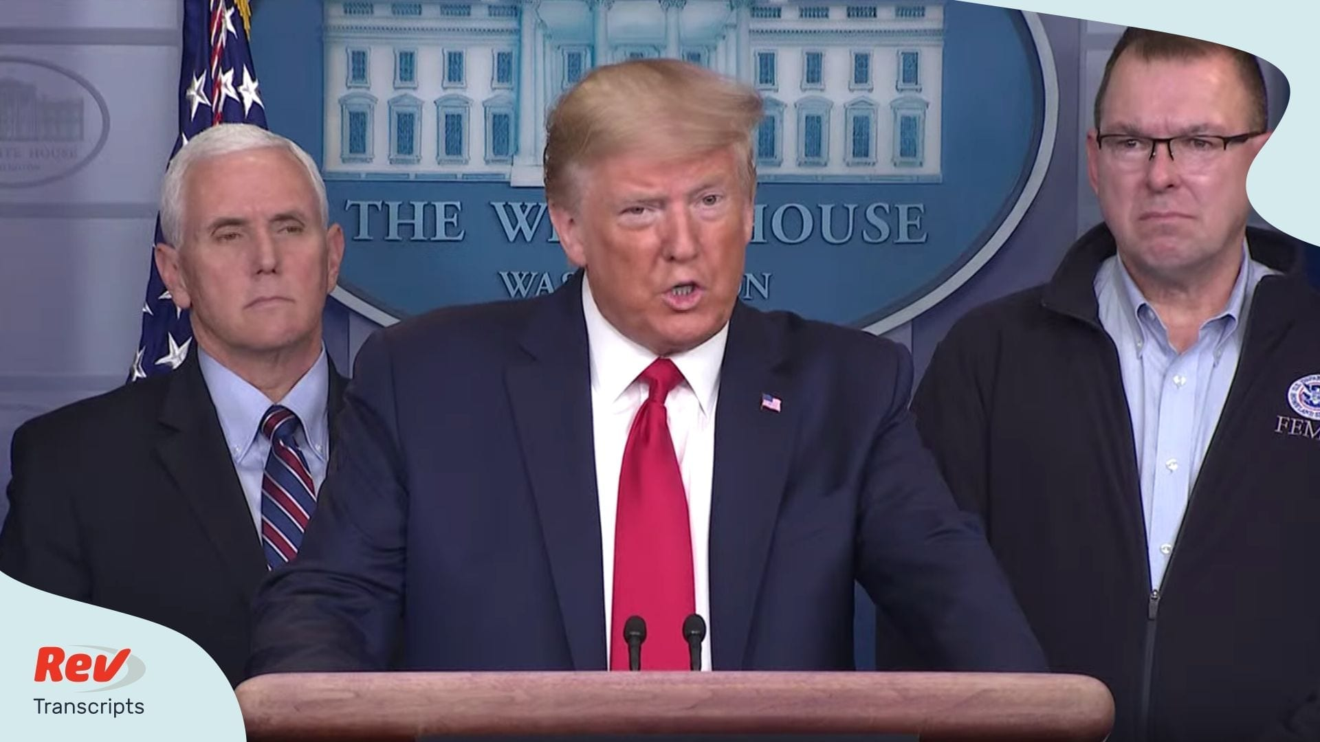 Donald Trump Coronavirus Task Force Briefing March 22