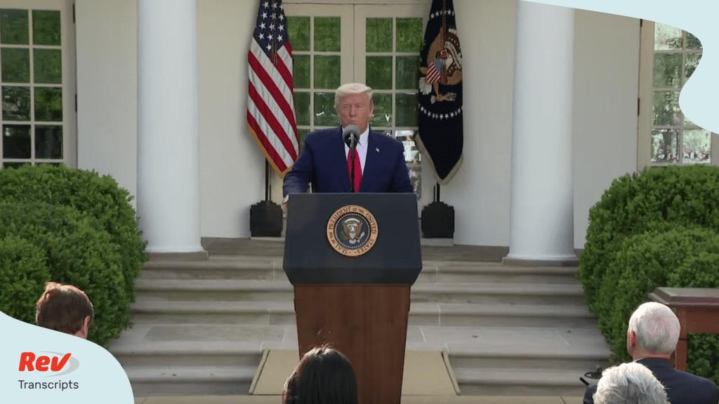 Donald Trump Coronavirus Task Force Briefing March 30