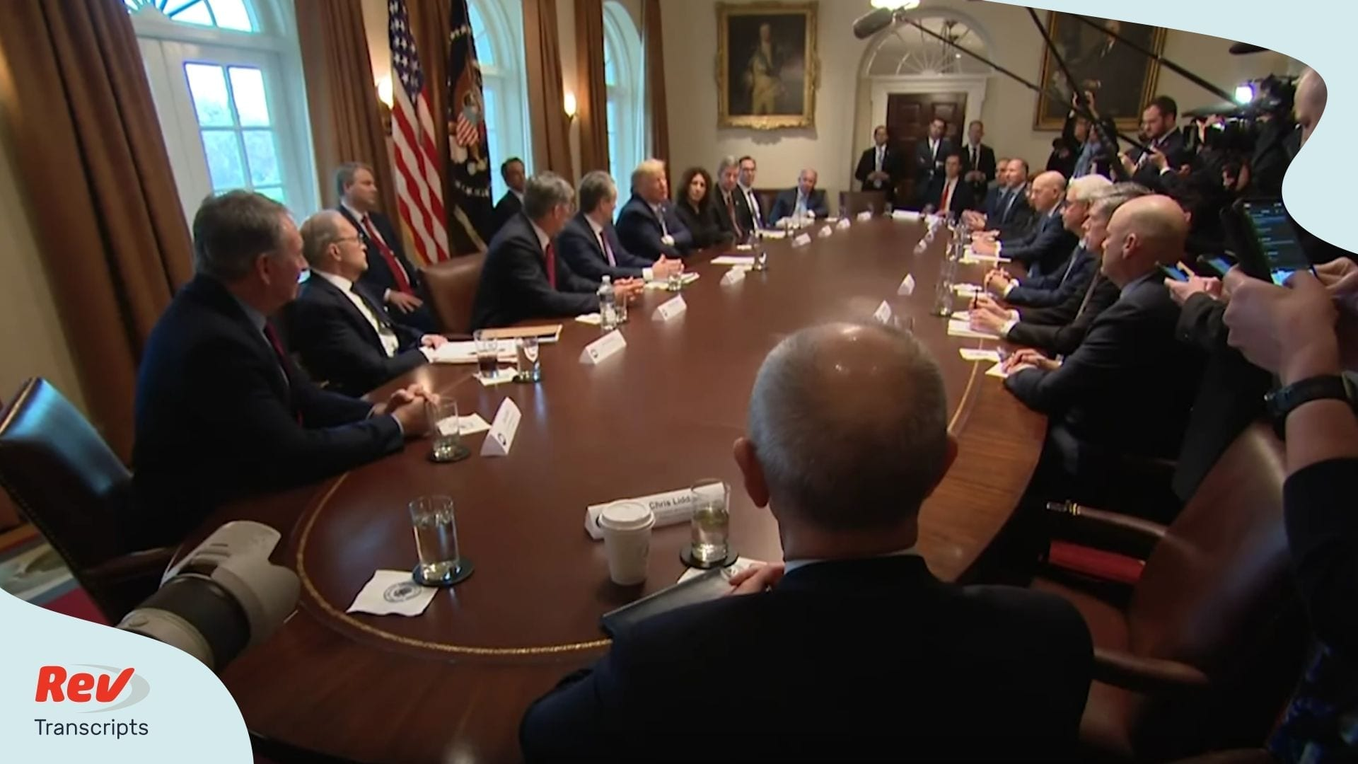 Donald Trump Meets with Bank CEOs Transcript