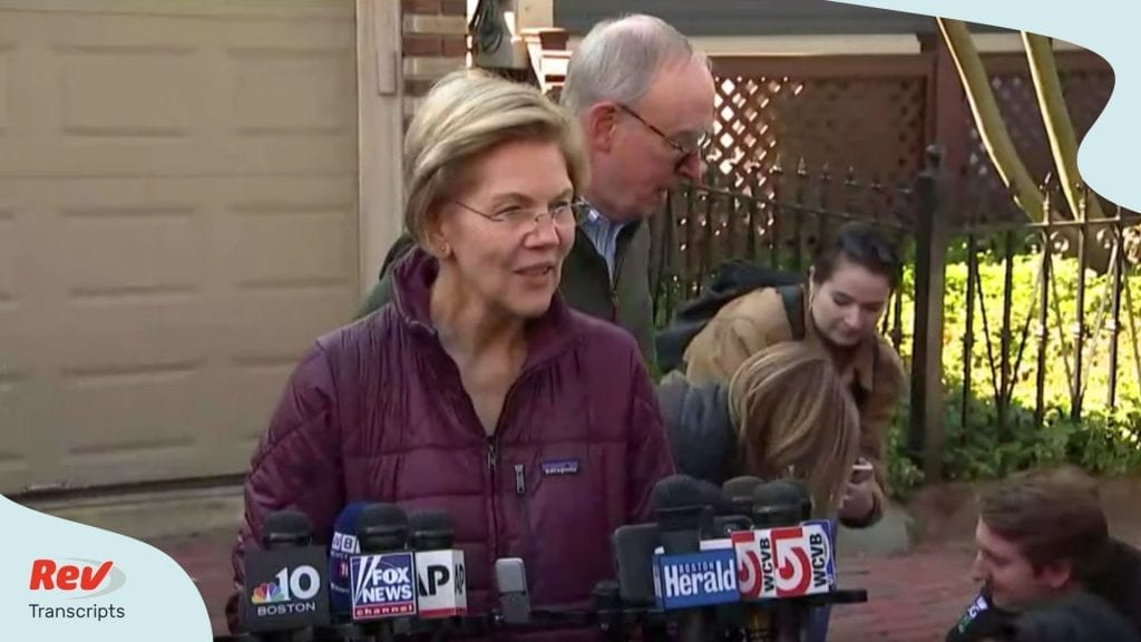 Elizabeth Warren Drops Out of 2020 Democratic Race Transcript