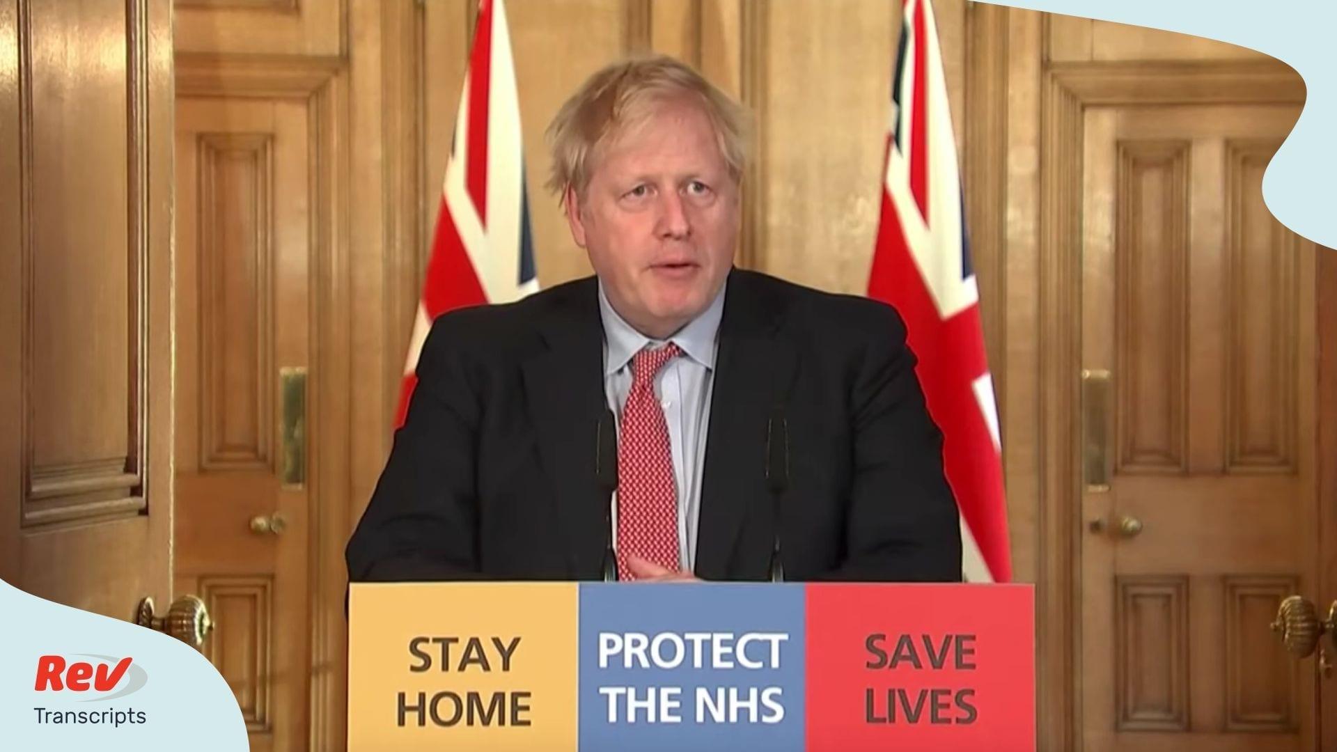 Boris Johnson Briefing Coronavirus March 25