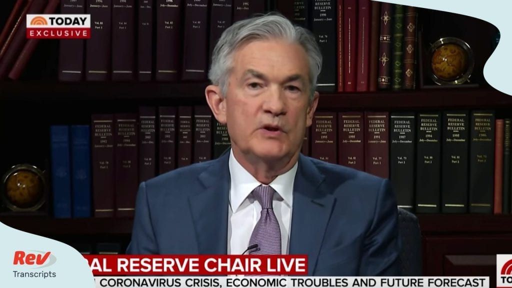 Fed Chair Jerome Powell Interview Transcript