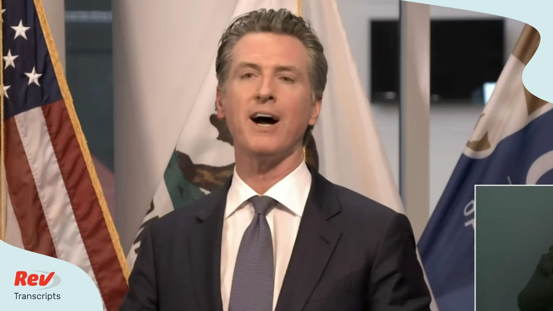 Gavin Newsom California Briefing March 23