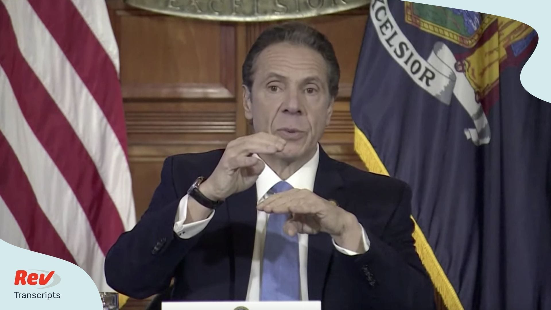 Governor Andrew Cuomo Coronavirus New York Update March 16