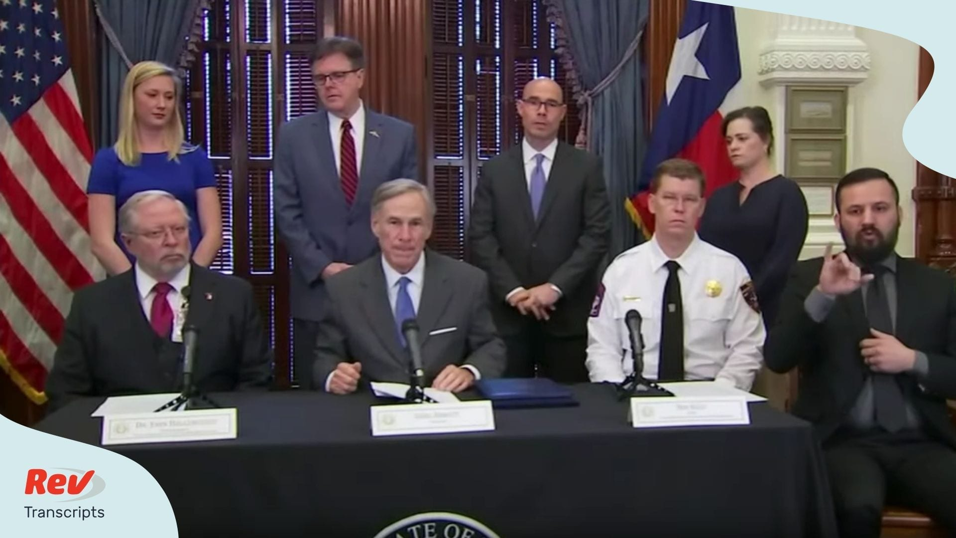 Greg Abbott Texas Coronavirus Update Transcript