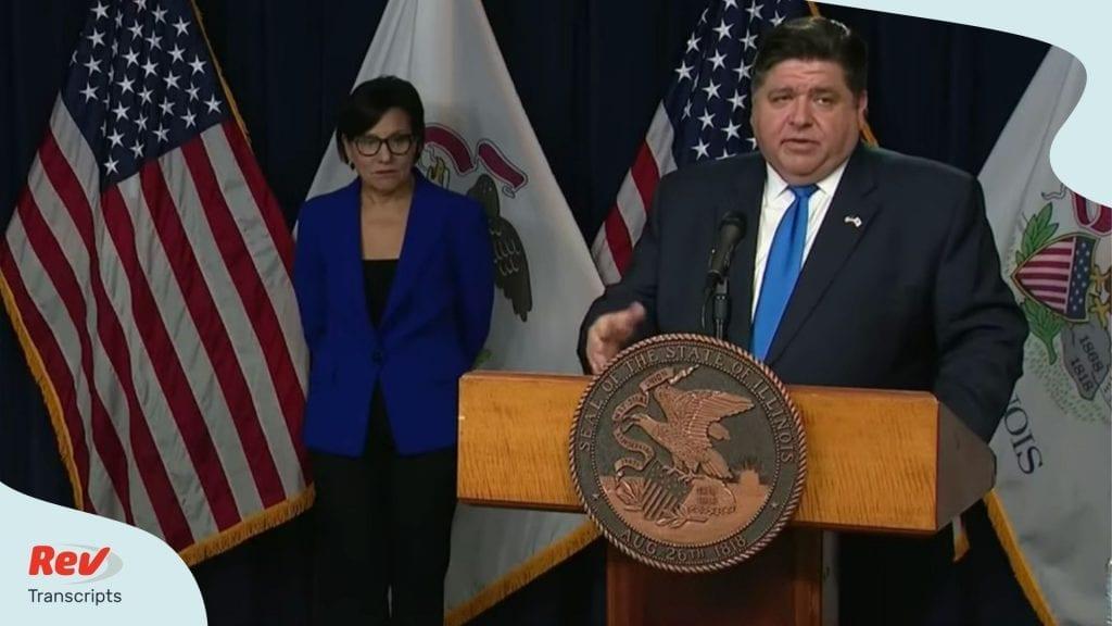 Illinois Press Conference Coronavirus March 26
