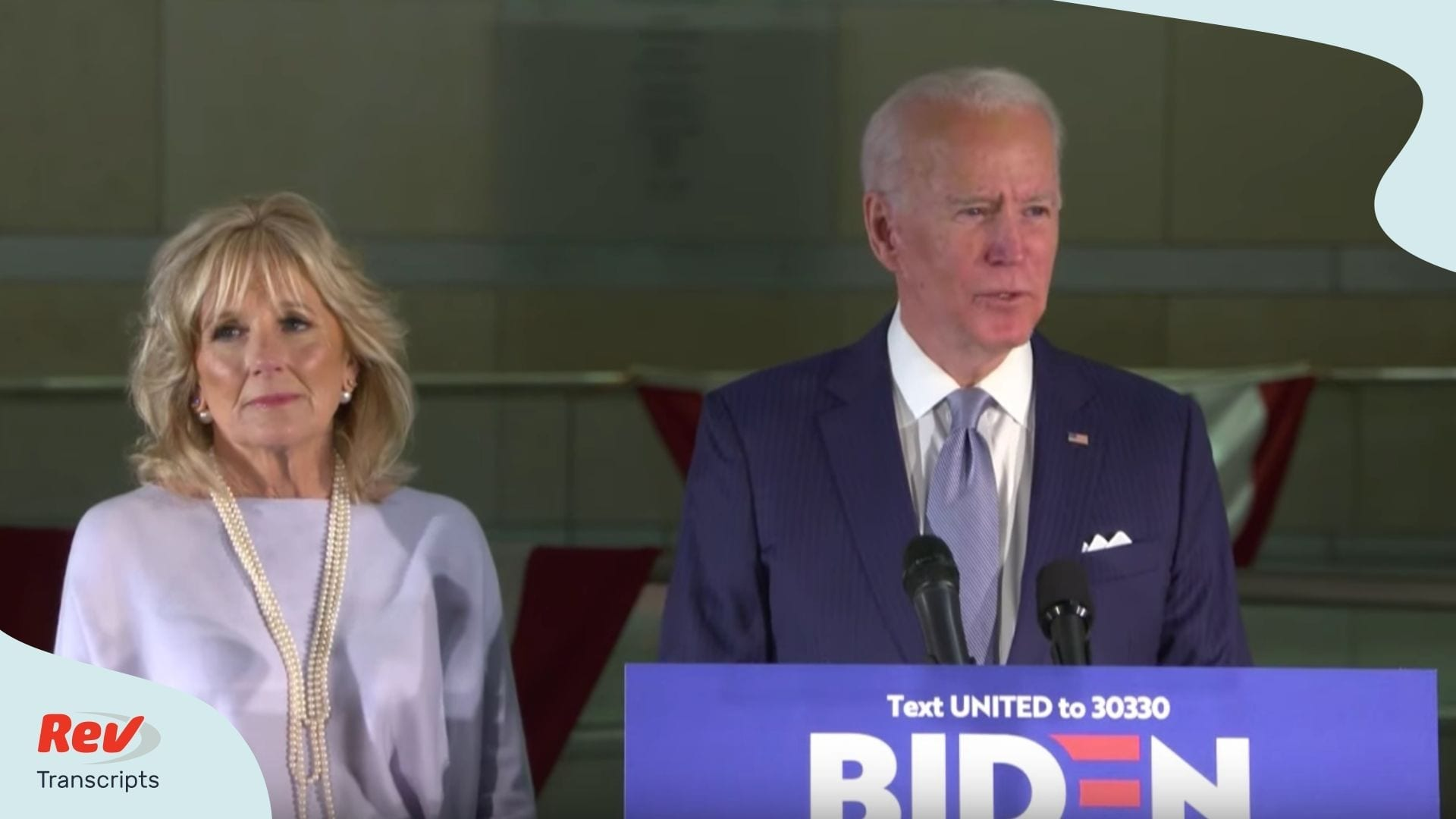 Joe Biden Speech Transcript March 10 Primaries Missouri Michigan