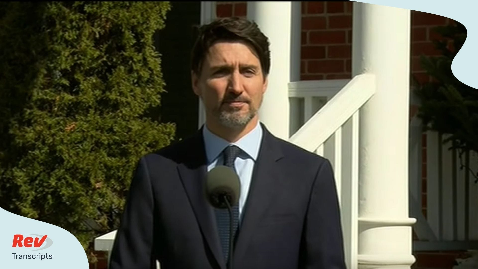 Justin Trudeau Speech Transcript on Wife Getting COVID-19