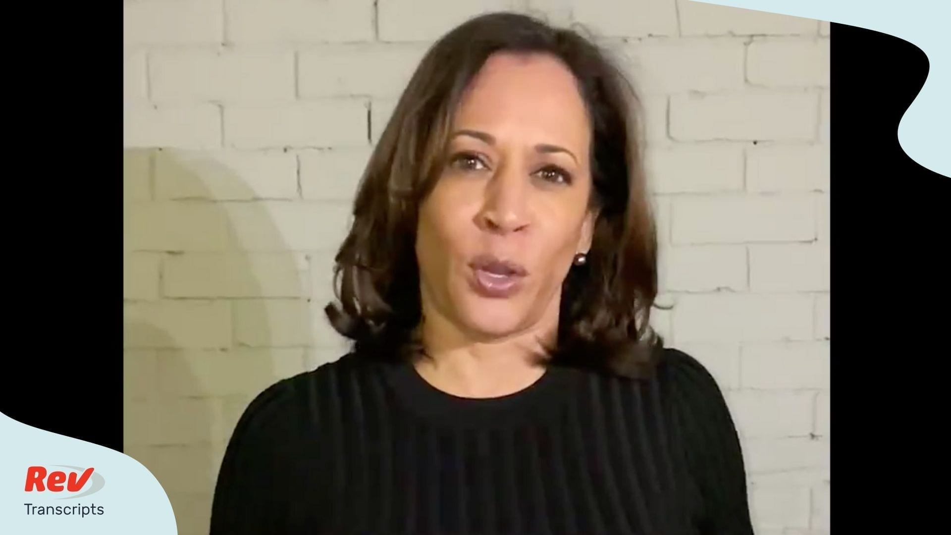 Kamala Harris Endorses Joe Biden Transcript