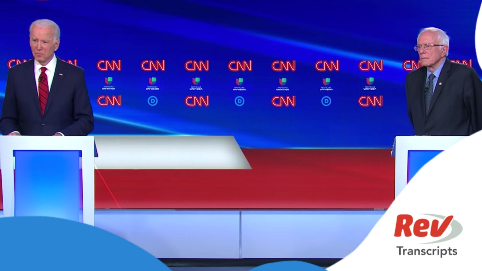 March Democratic Debate Transcript Joe Biden Bernie Sanders