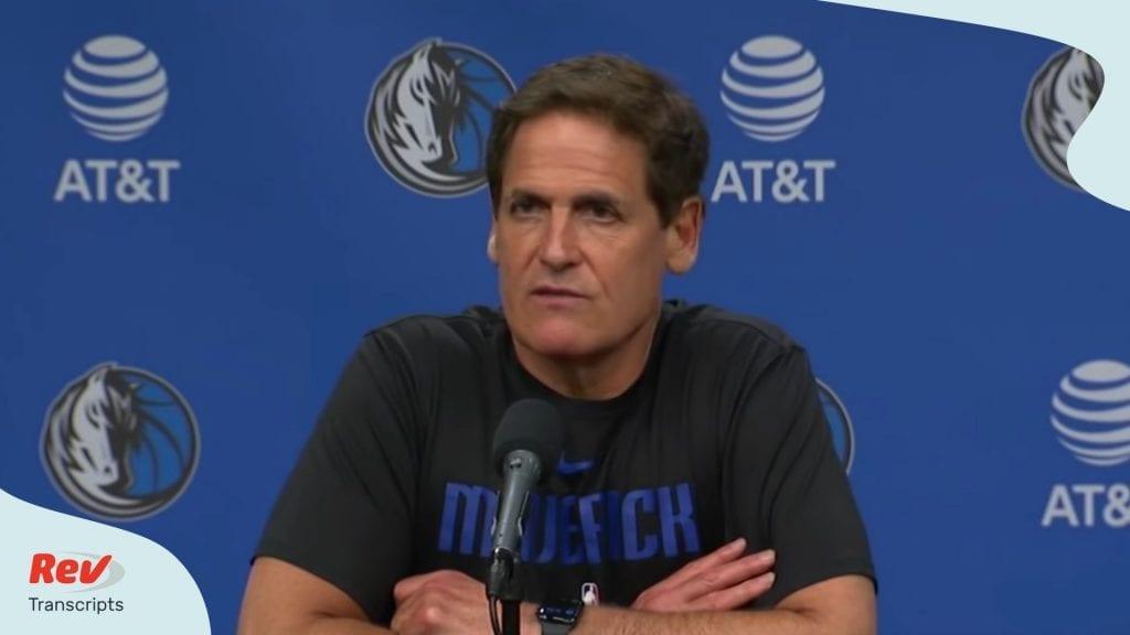 Mark Cuban NBA Suspending Season Coronavirus Transcript