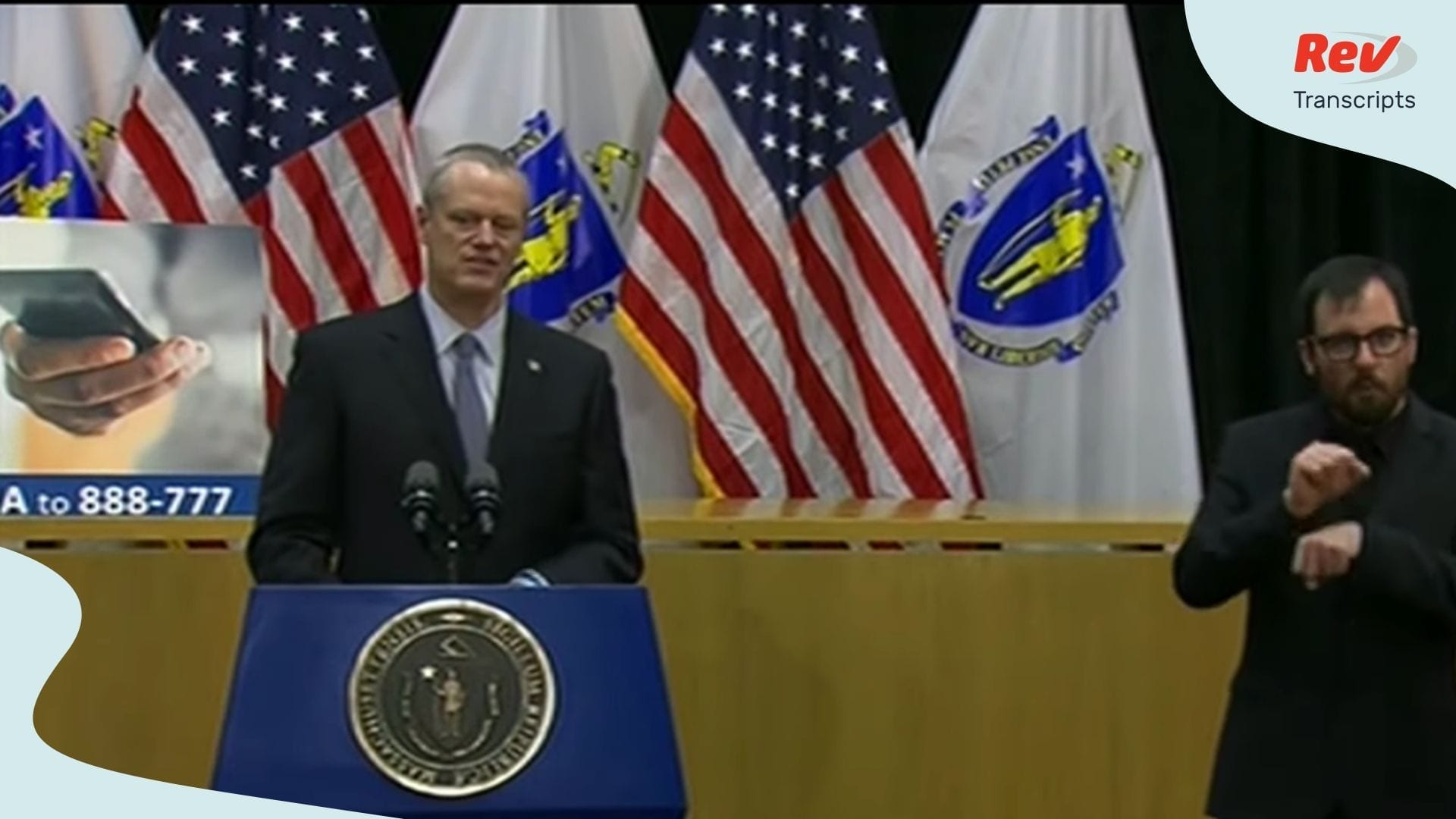 Massachusetts Governor COVID Briefing March 24