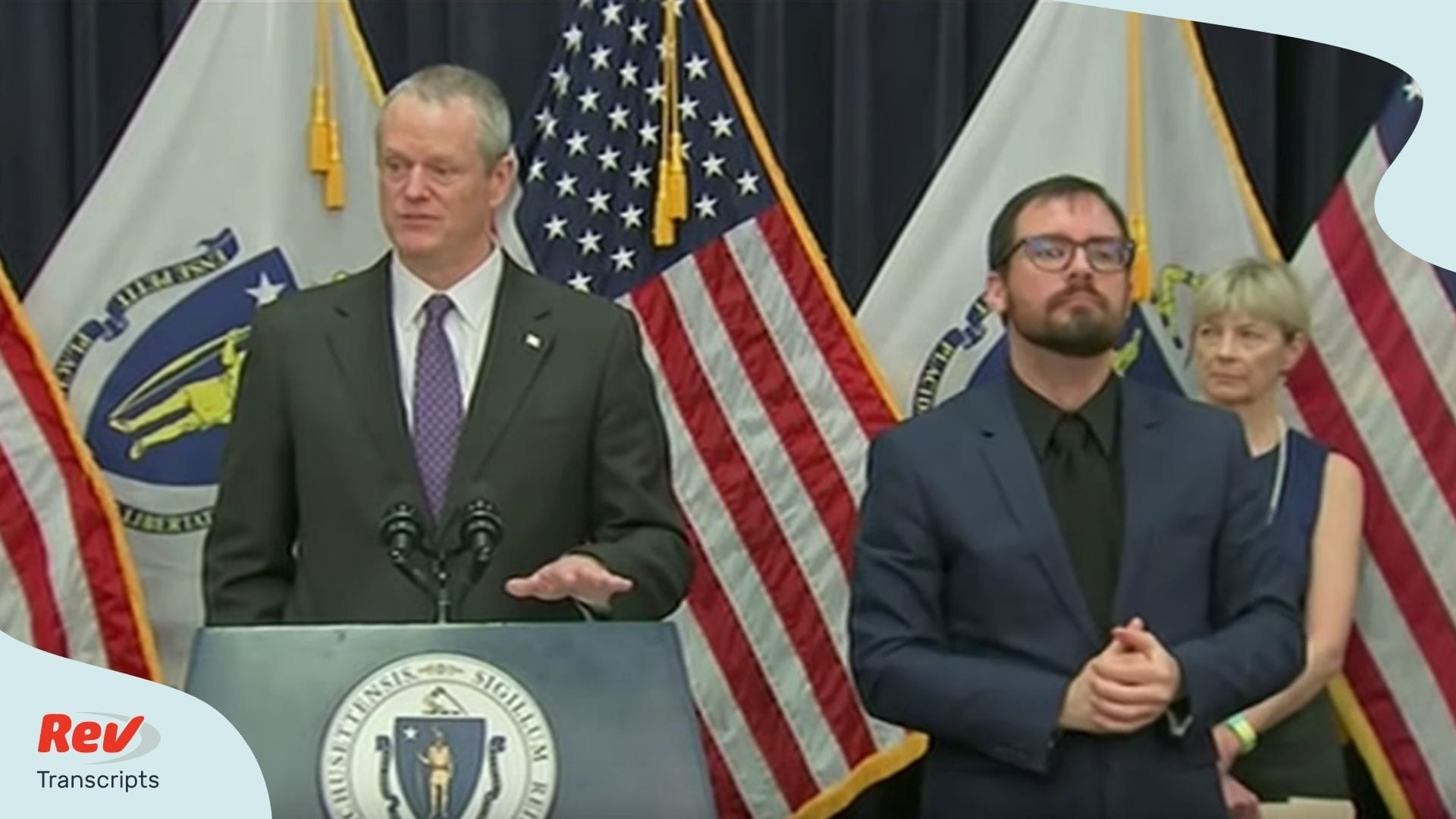 Massachusetts Governor Charlie Baker Briefing March 23