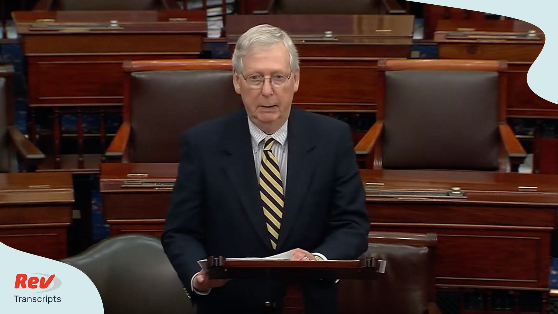 Mitch McConnell Speech After Vote Fails