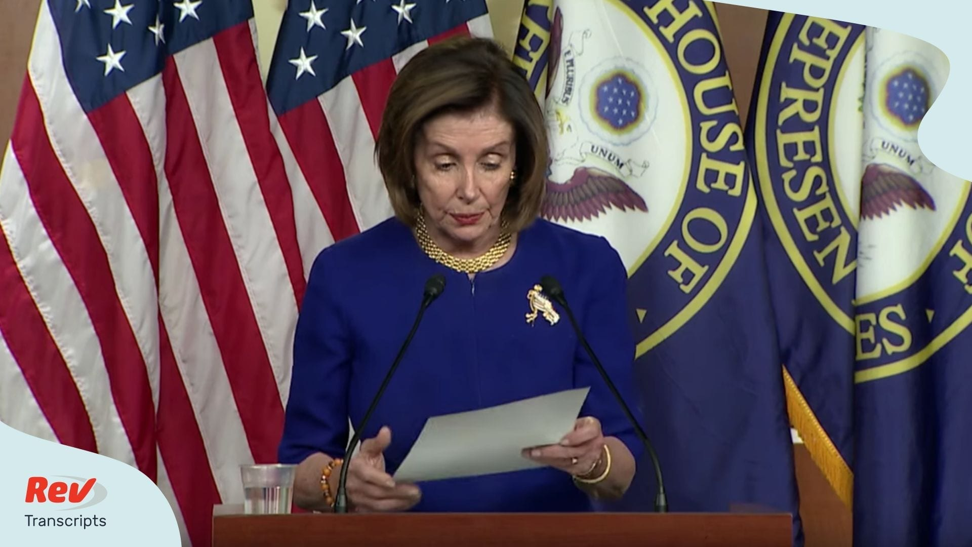 Nancy Pelosi Weekly Press Conferenc Transcript