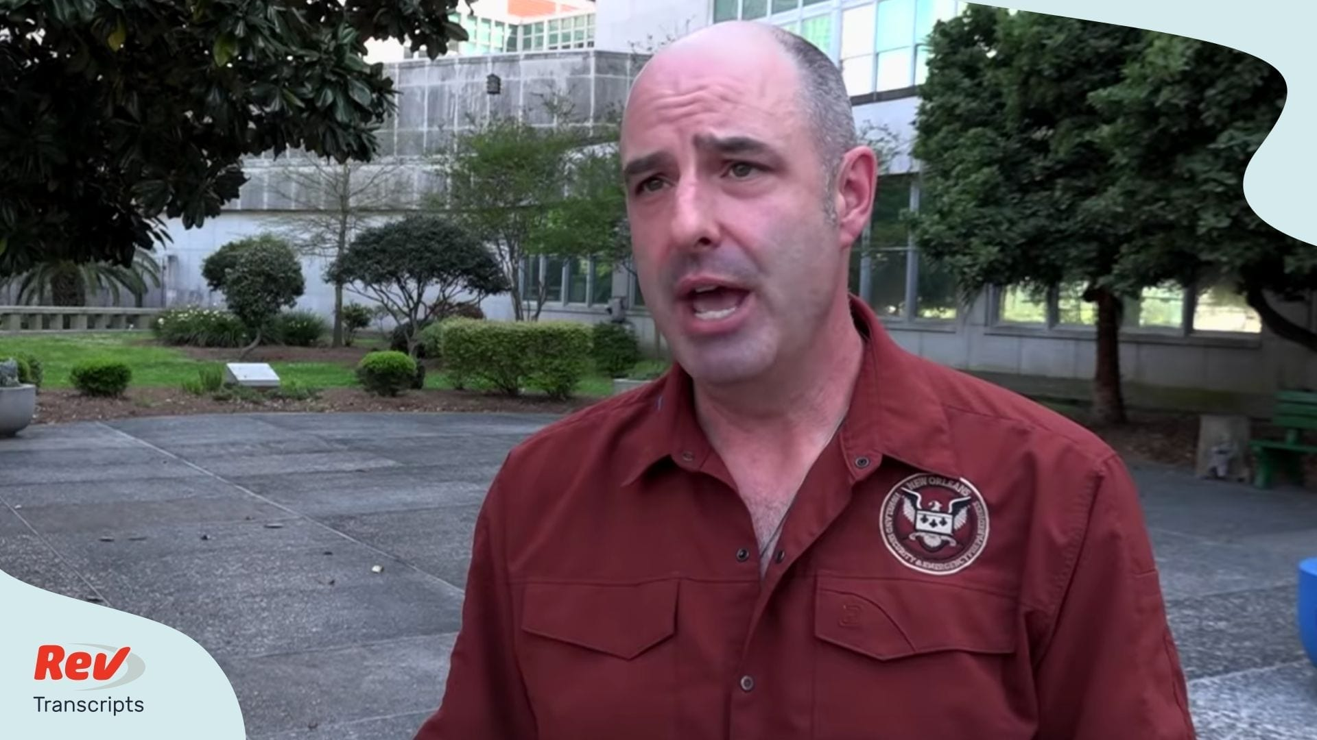 New Orleans Coronavirus Interview Homeland Security