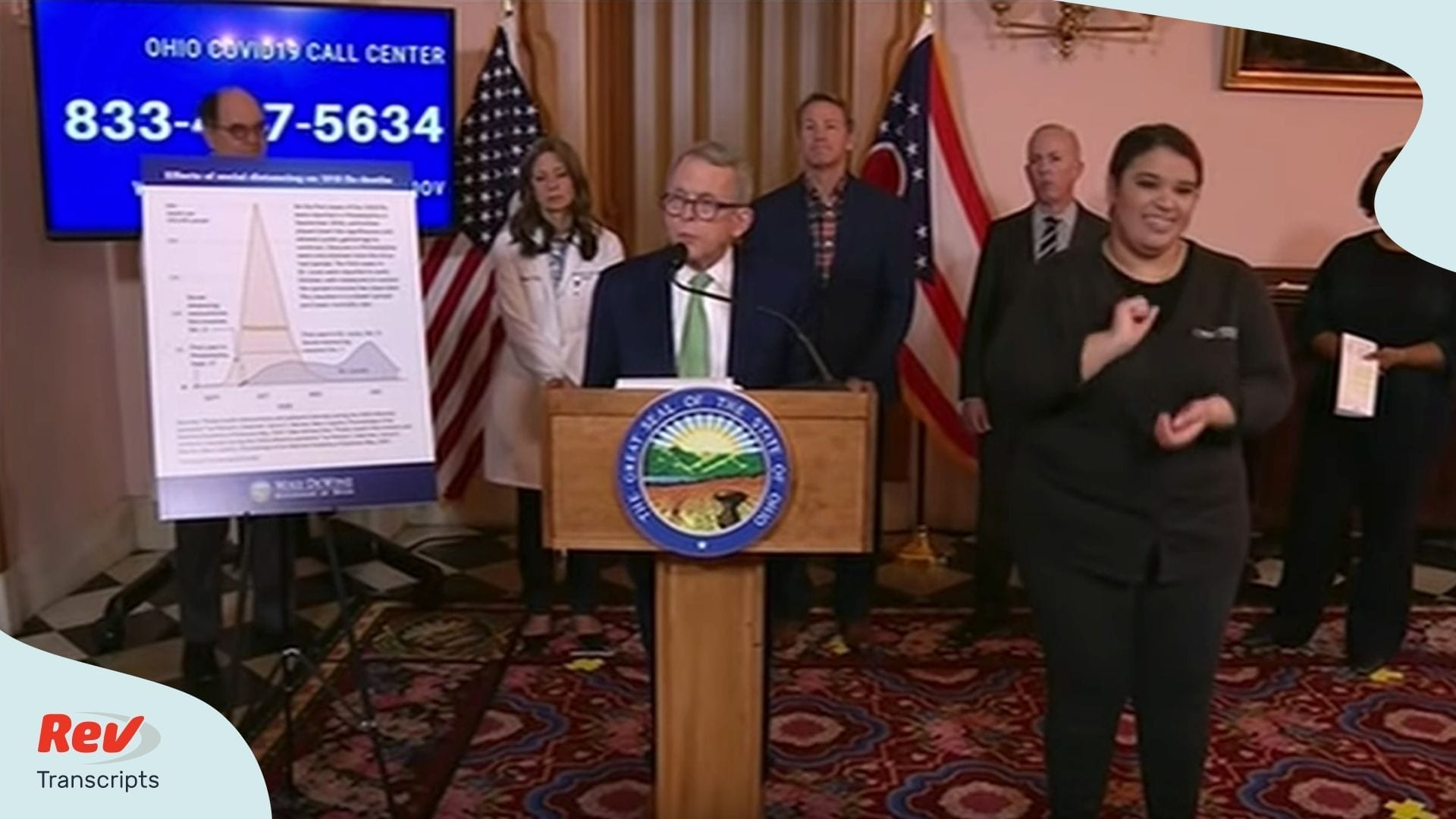 Ohio Governor Mike DeWine News Conference Coronavirus Transcript
