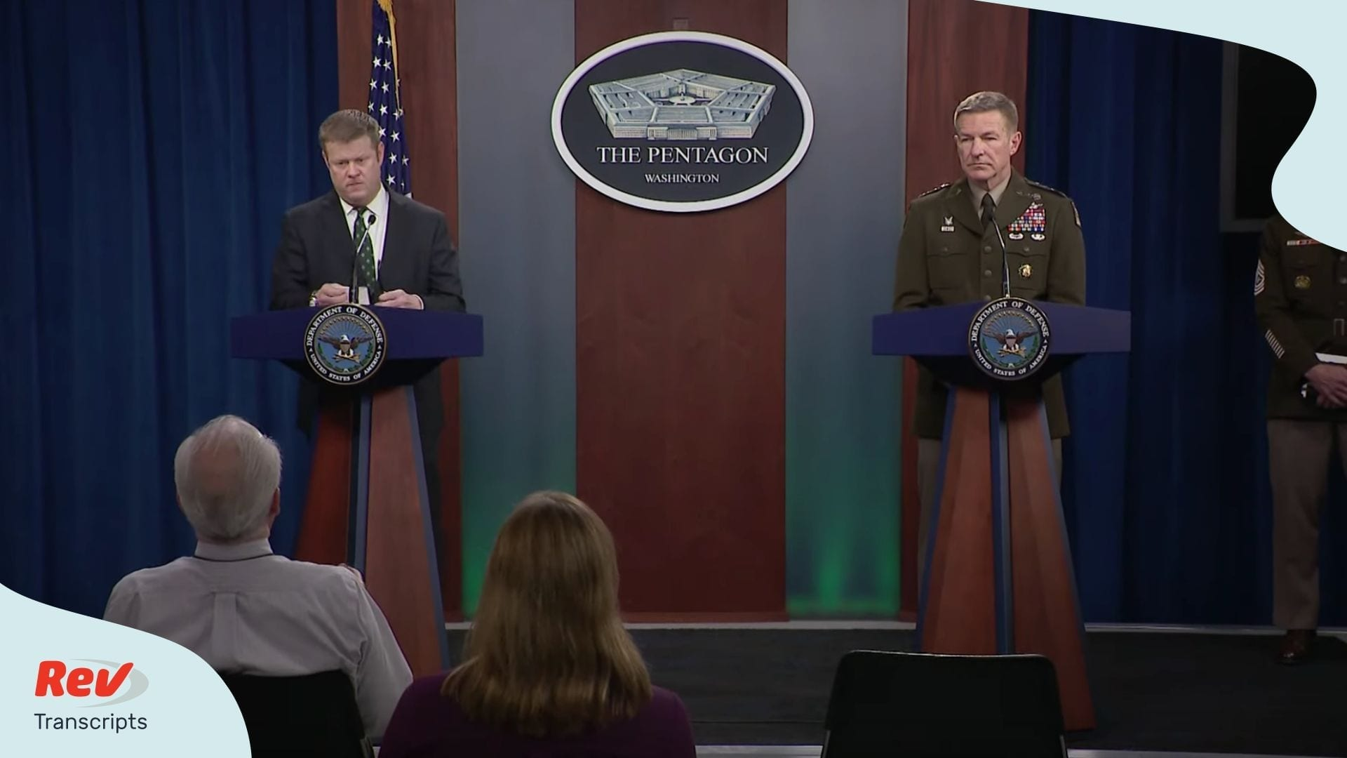 Pentagon News Briefing on Coronavirus