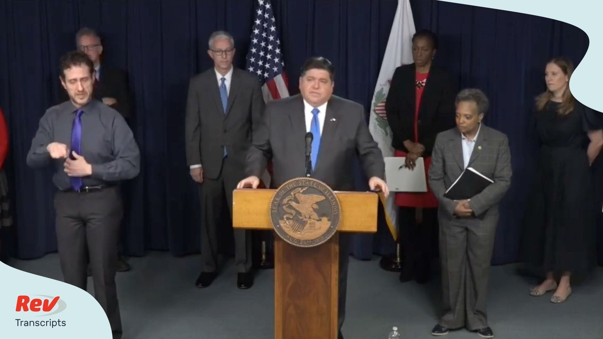 Pritzker Illinois Shelter in Place Order Transcript