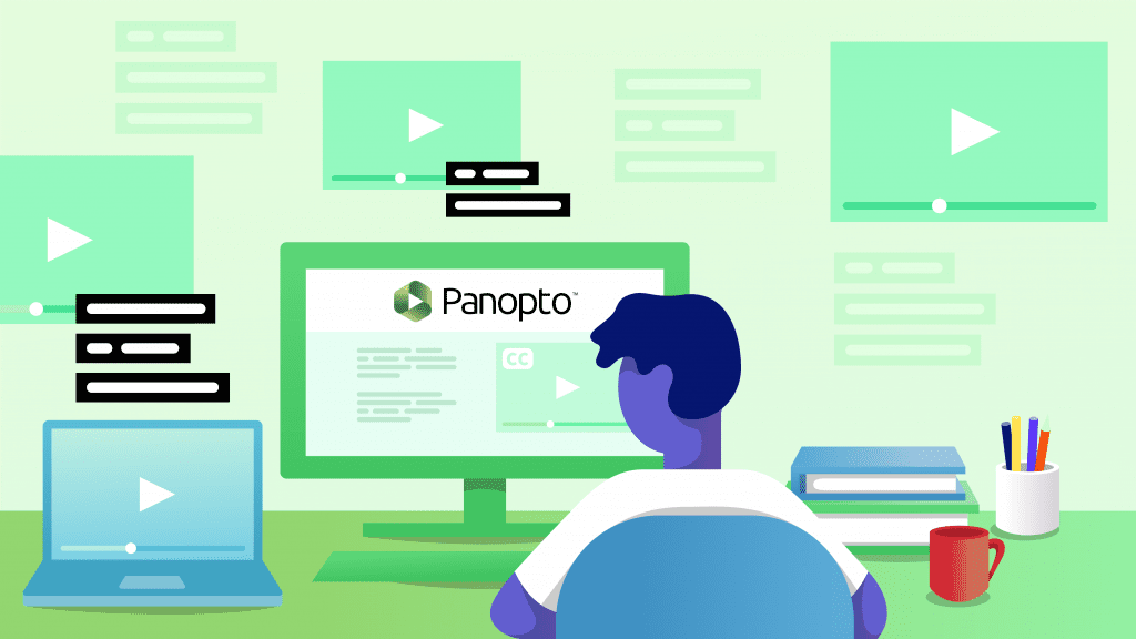 How to Add Captions & Subtitles to Panopto Online Course Videos
