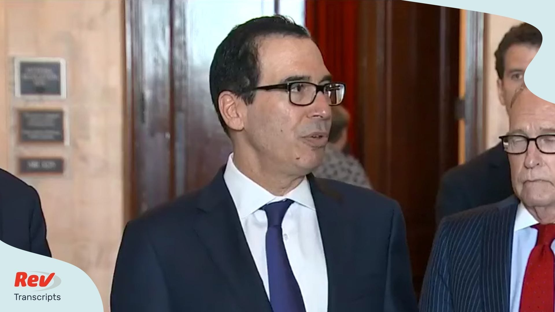 Steve Mnuchin Talks $1 Trillion Stimulus Package