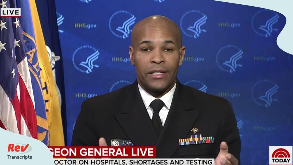 Surgeon General Its Going to Get Bad Coronavirus Interview Transcript