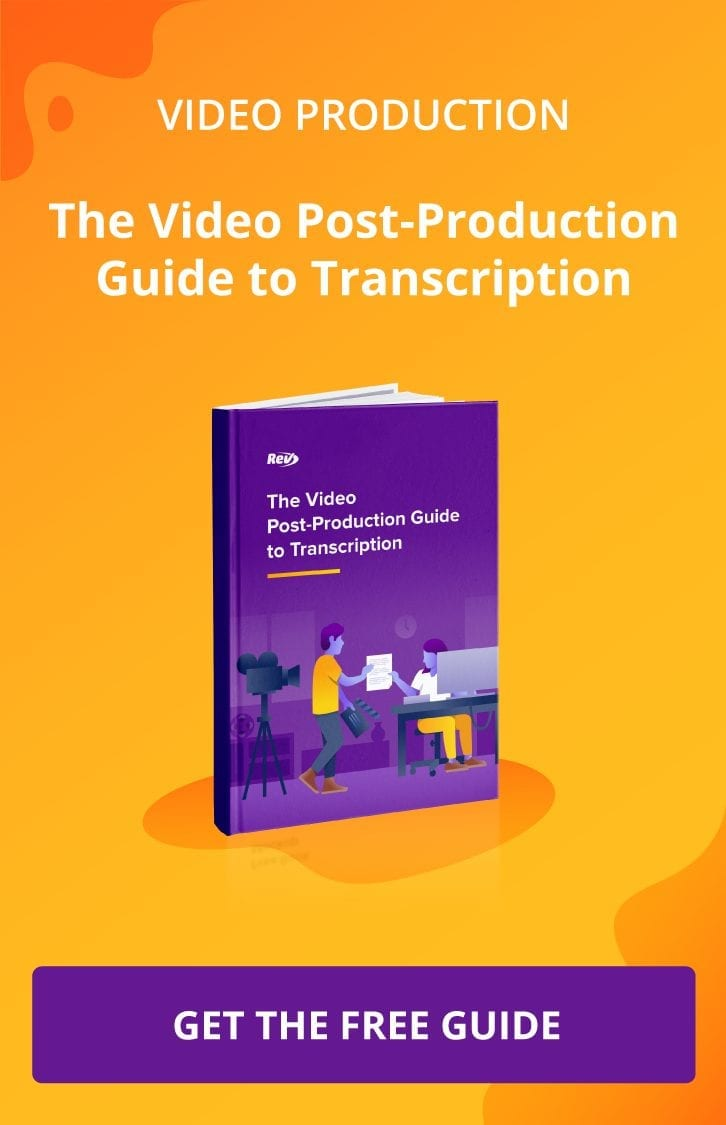 Transcription eBook Video Production