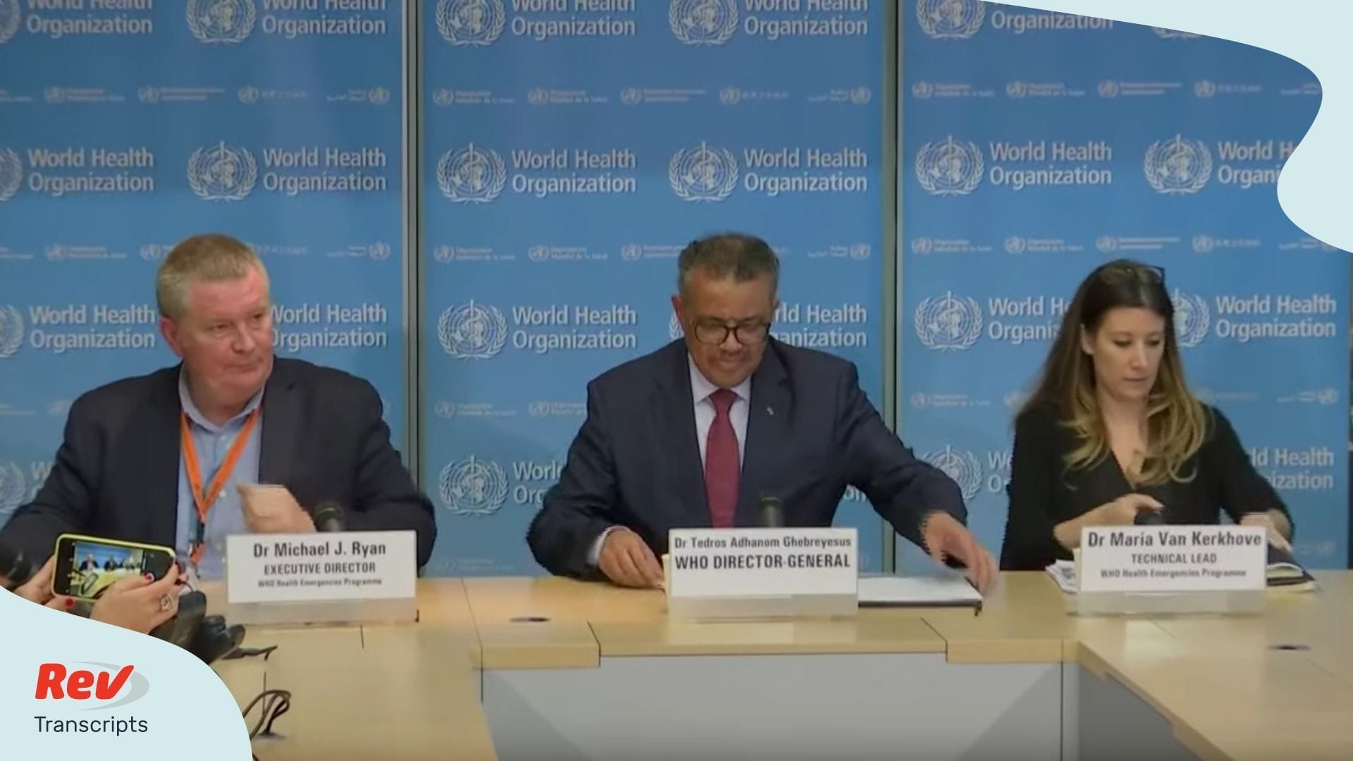 World Health Organization Update March 6 2020