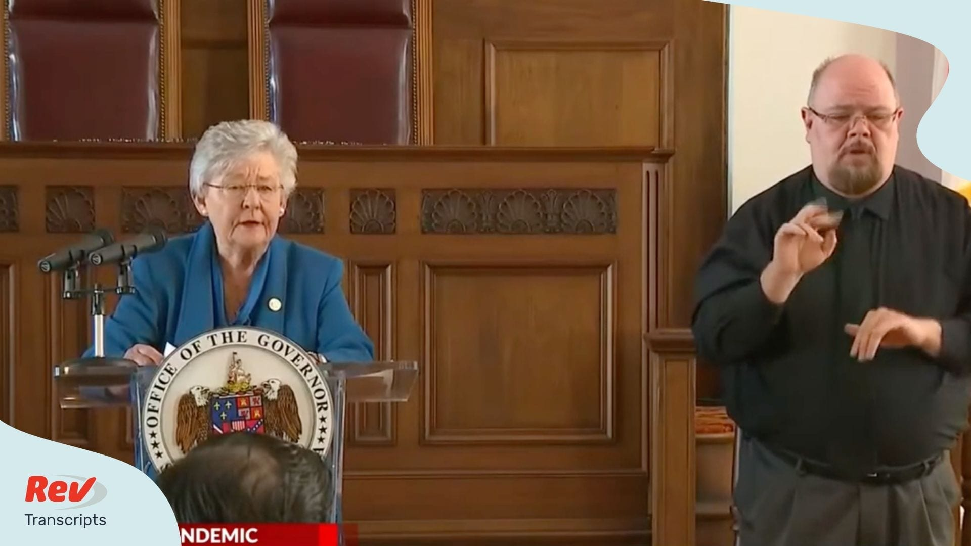 Alabama Governor Kay Ivey COVID 19 Briefing April 3