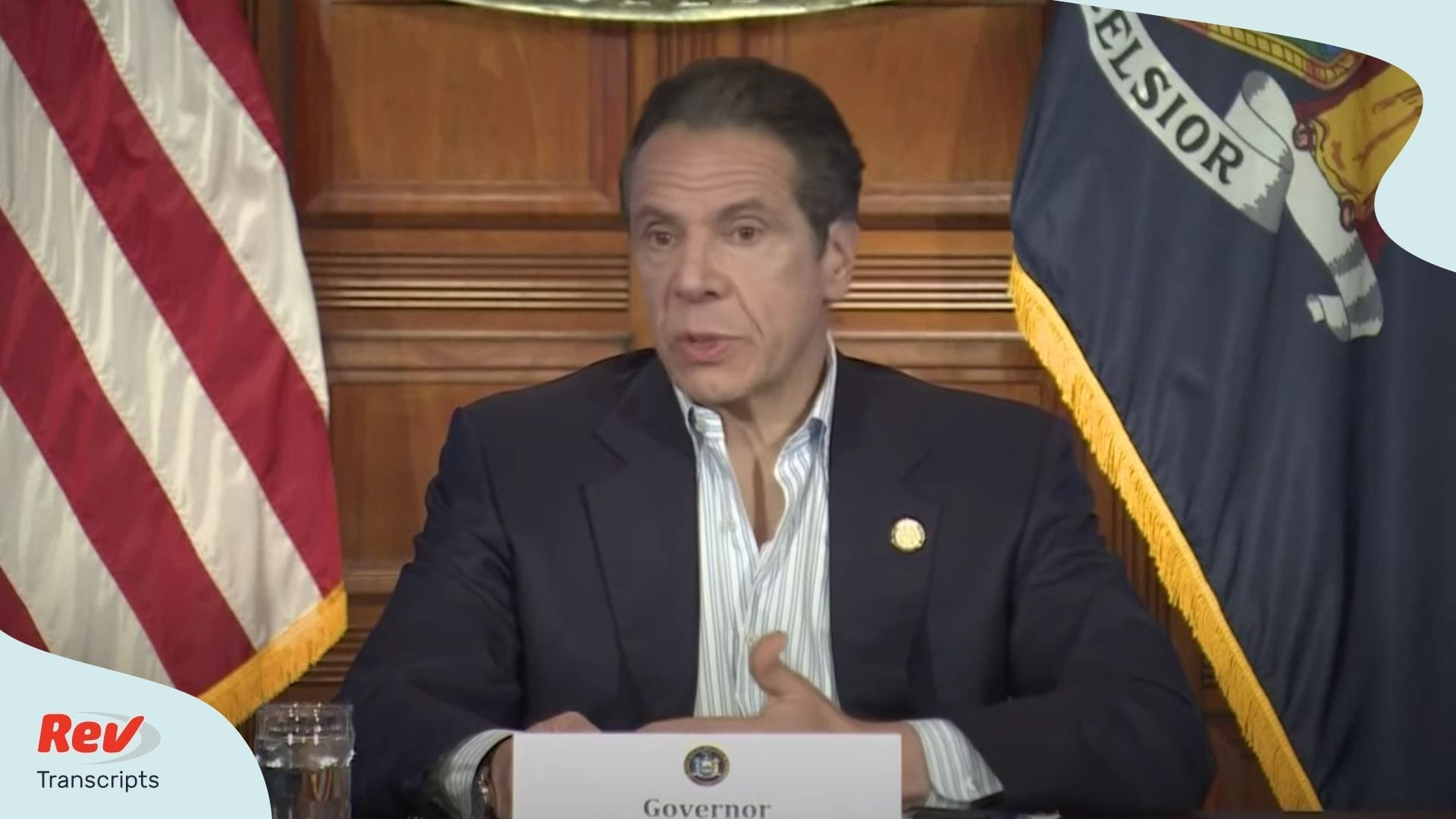 Andrew Cuomo Briefing April 25
