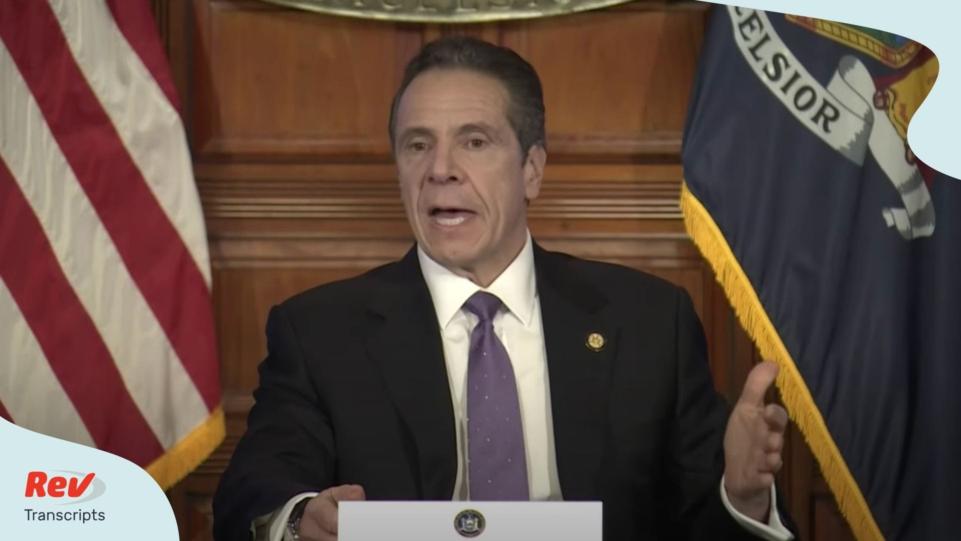 Andrew Cuomo NY press briefing april 17