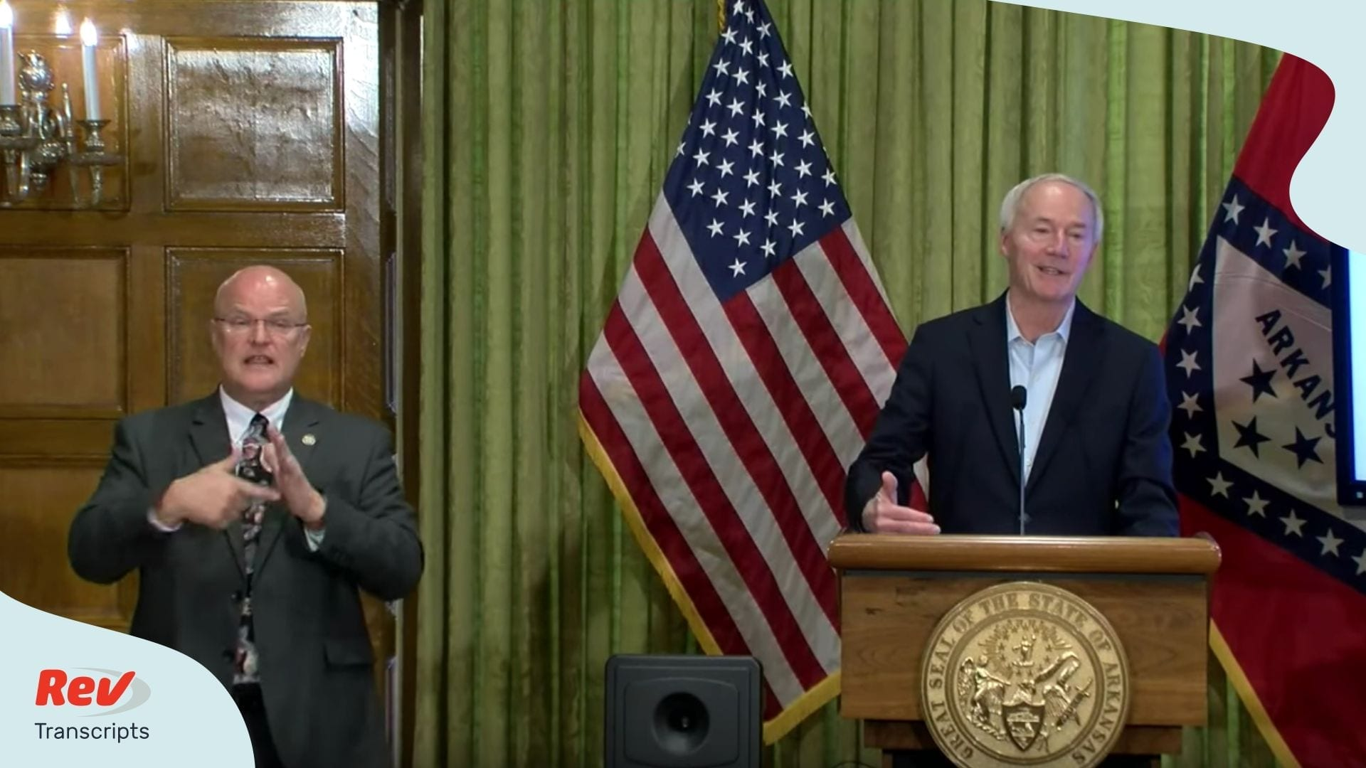 Arkansas Governor Briefing April 4