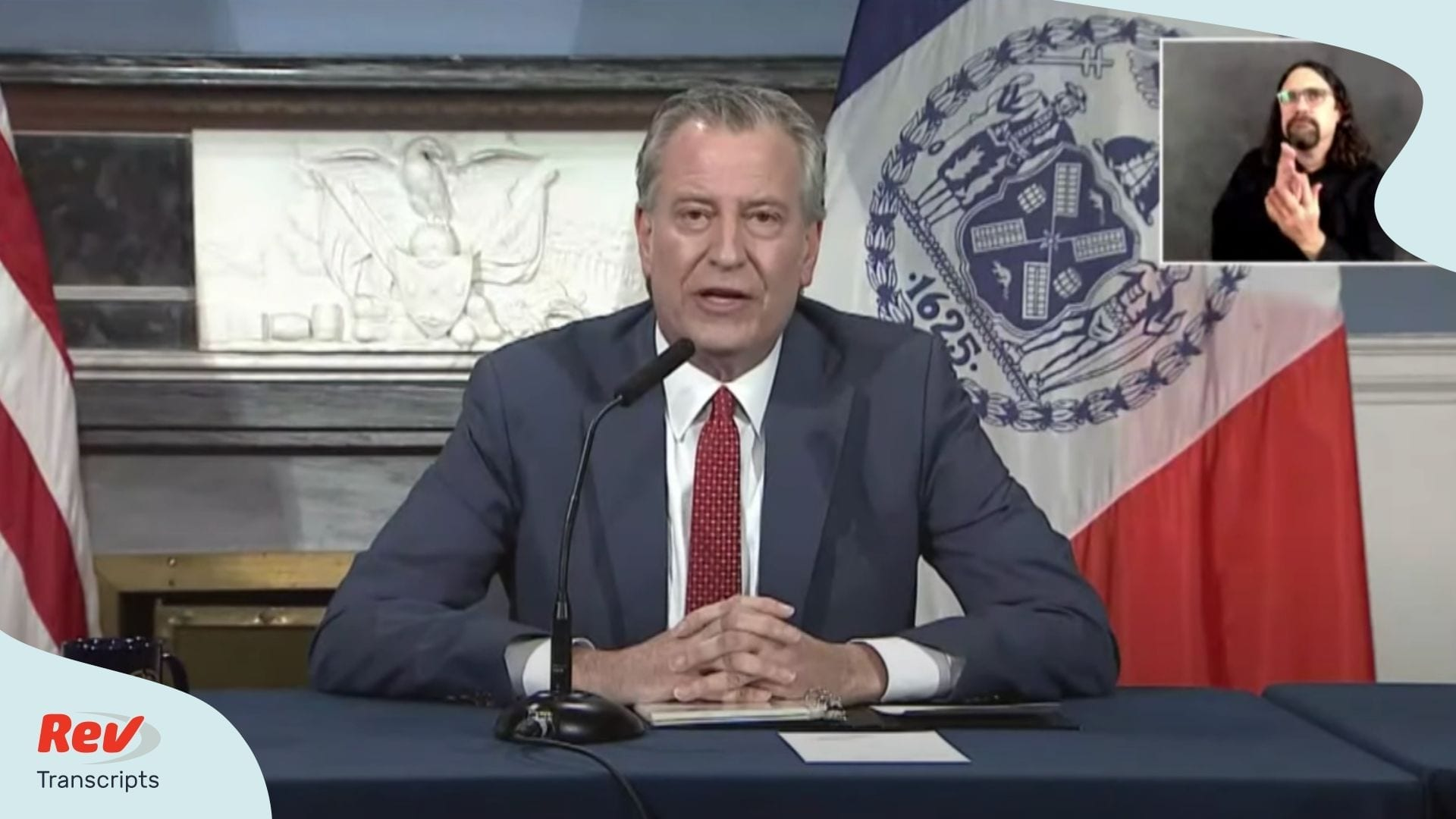 Bill de Blasio April 23