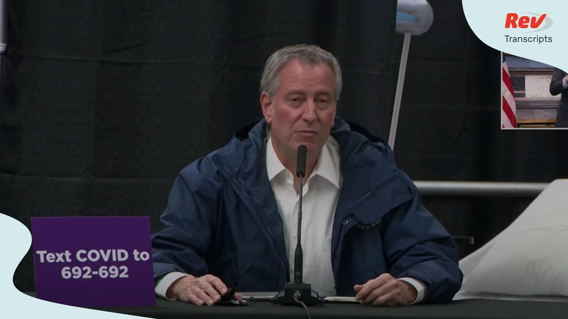 Bill de Blasio Coronavirus Press Conference April 10