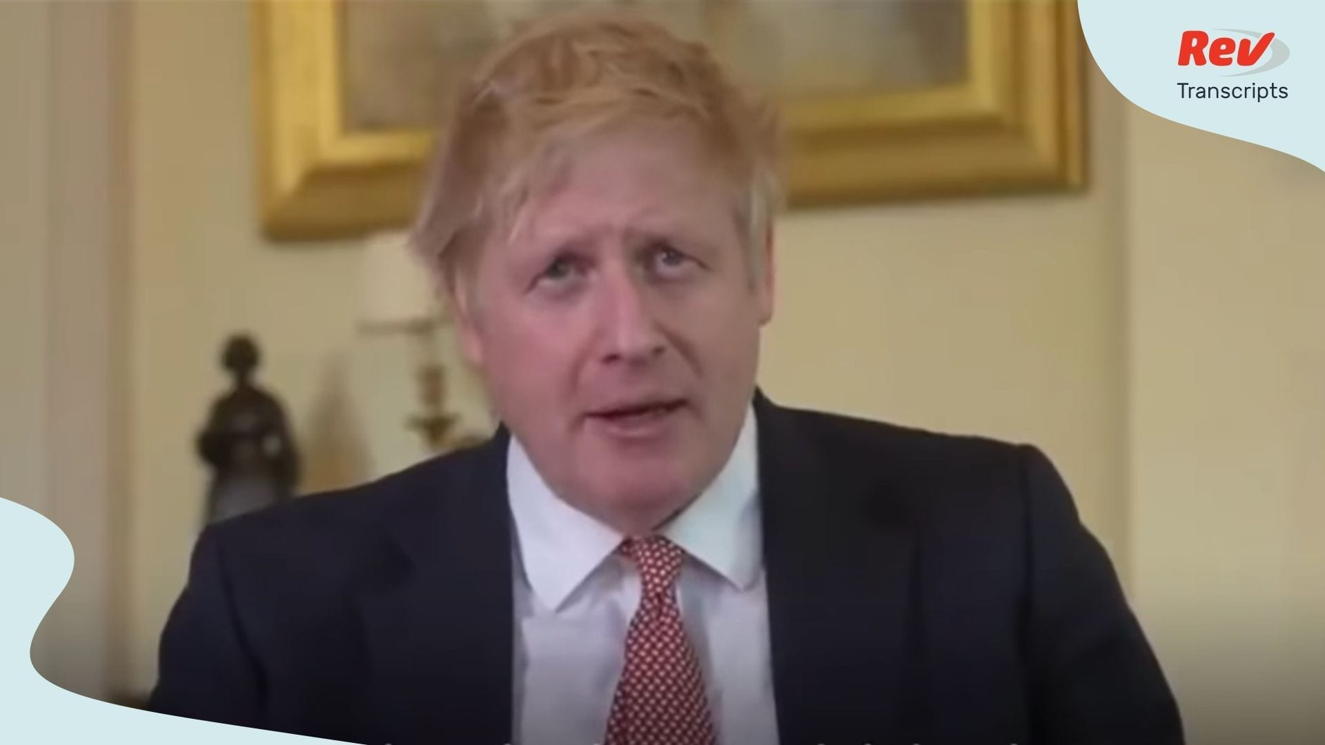 Boris Johnson Coronavirus Speech April 12