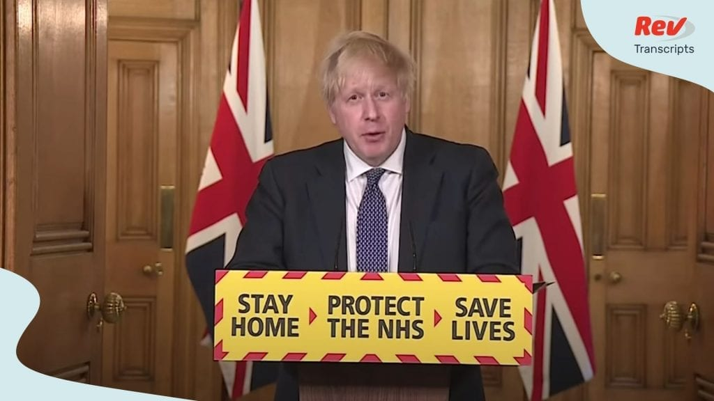 Boris Johnson UK Coronavirus Briefing April 30