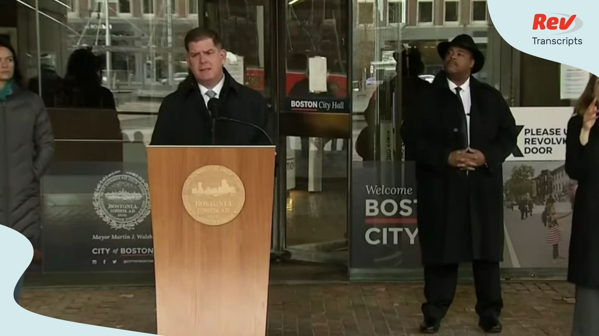 Boston Mayor Coronavirus April 2