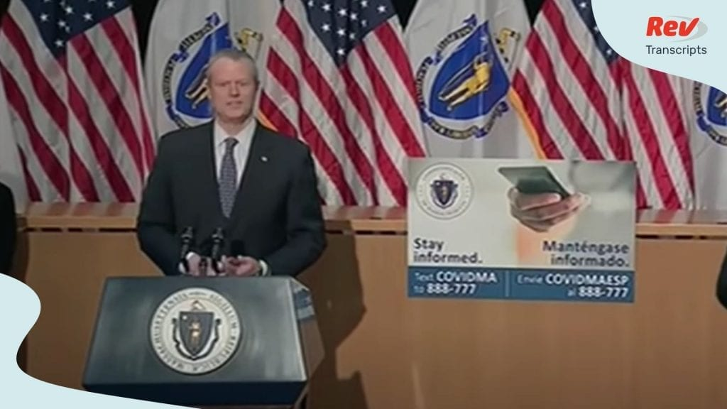 Charlie Baker Briefing April 23