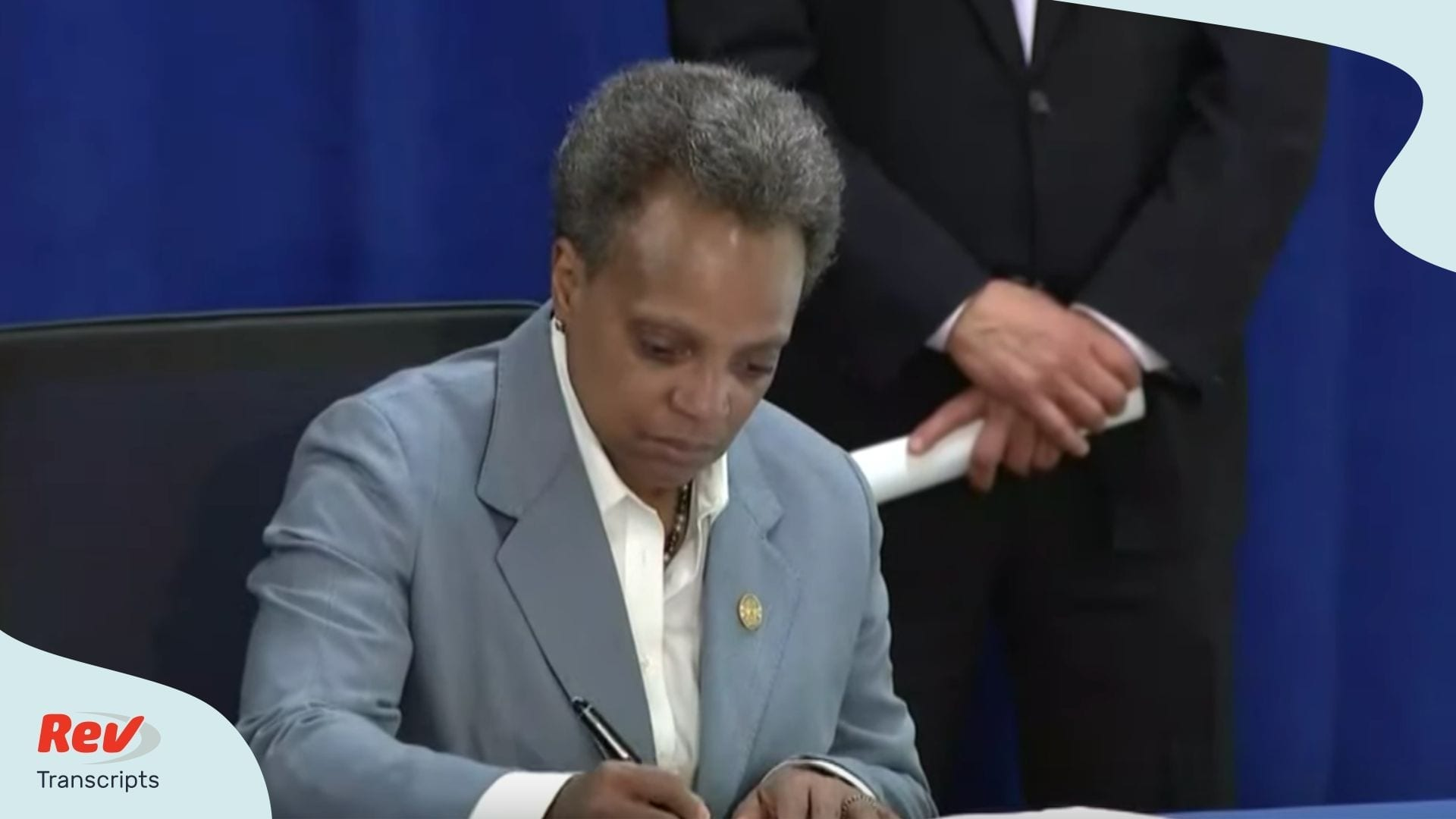 Chicago Mayor Lori Lightfoot April 7